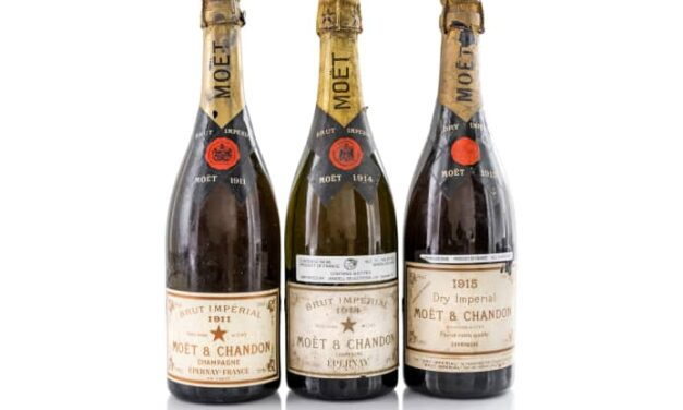 A 110-year-old bottle of Champagne is about to go on the block in an auction that could fetch millions