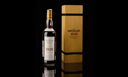 A bottle of whisky sold for $1.9 million, smashing auction records