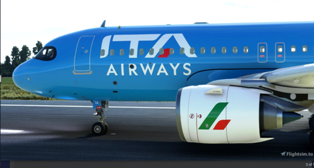 ITALY'S NEW NATIONAL AIRLINE TAKES TO THE SKY