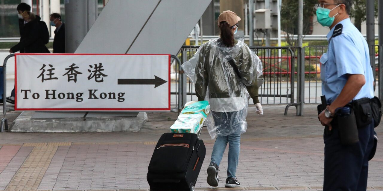 HONG KONG SAYS CHINA IS TOP PRIORITY AS IT REOPENS BORDERS