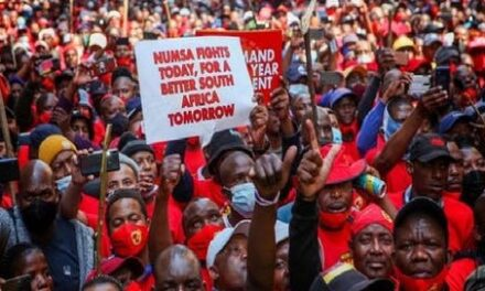 LARGEST SOUTH AFRICAN METALWORKERS UNION BEGIN INDEFINITE STRIKE
