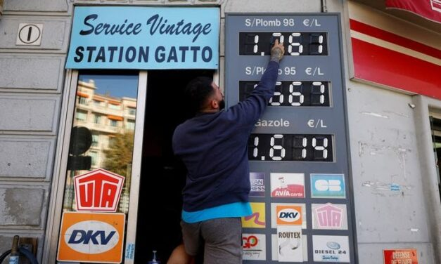 FRANCE OFFERS €100 TO POORER HOUSEHOLDS AS FUEL PRICE INCREASES